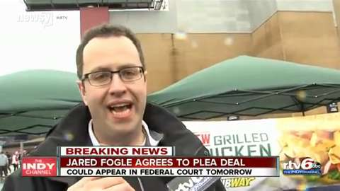 Subway's Jared Fogle to plead guilty to having child porn