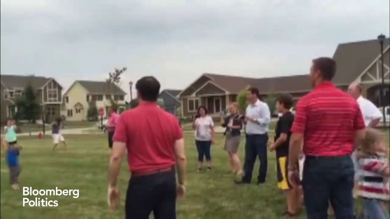 Marco Rubio hits kid with football...not his only miss