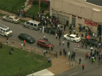 Protests In St. Louis After Police Shoot Man