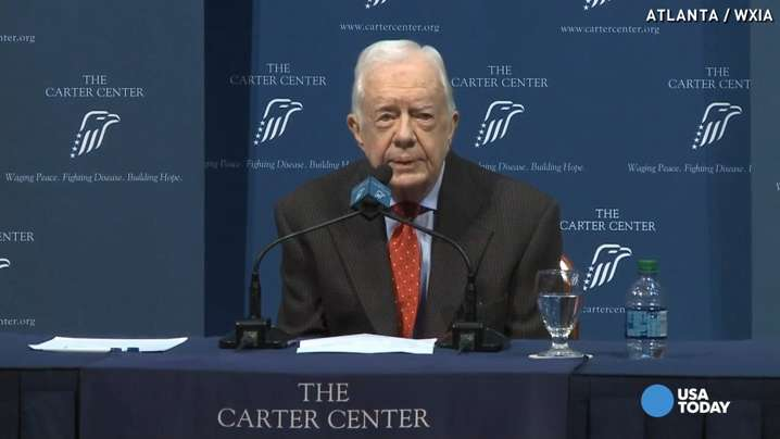 Jimmy Carter: Cancer has spread to my brain