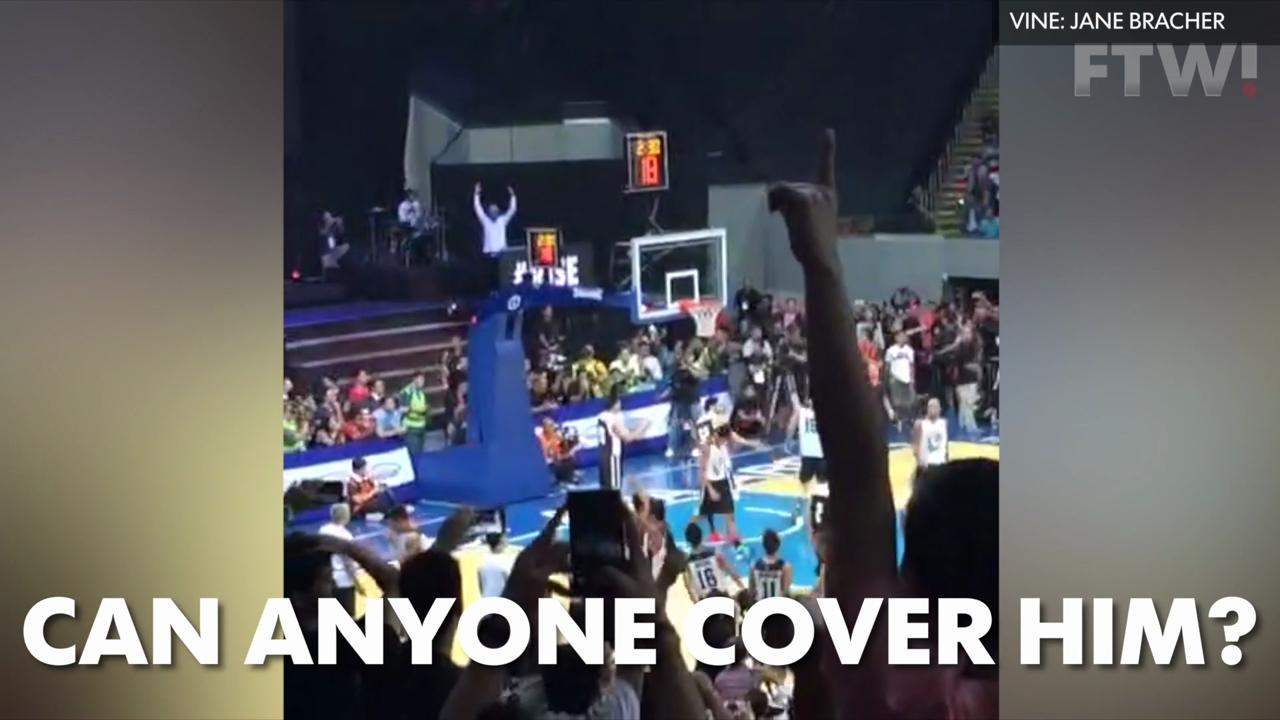 LeBron James putting on a show in Philippines