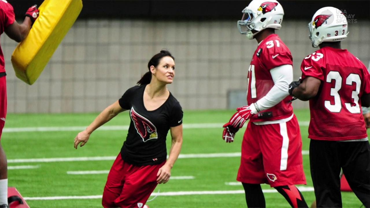 The impact of Jen Welter, the NFL's first female coach