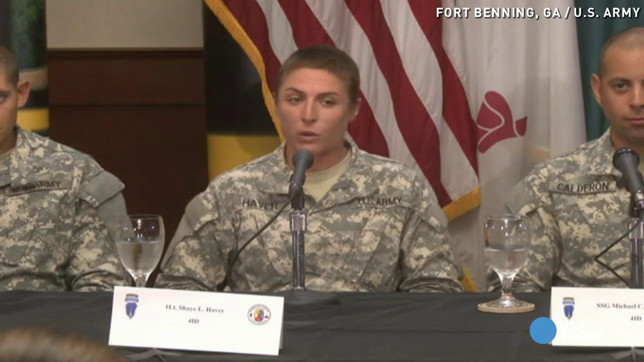 Meet the first women to finish Army's Ranger School