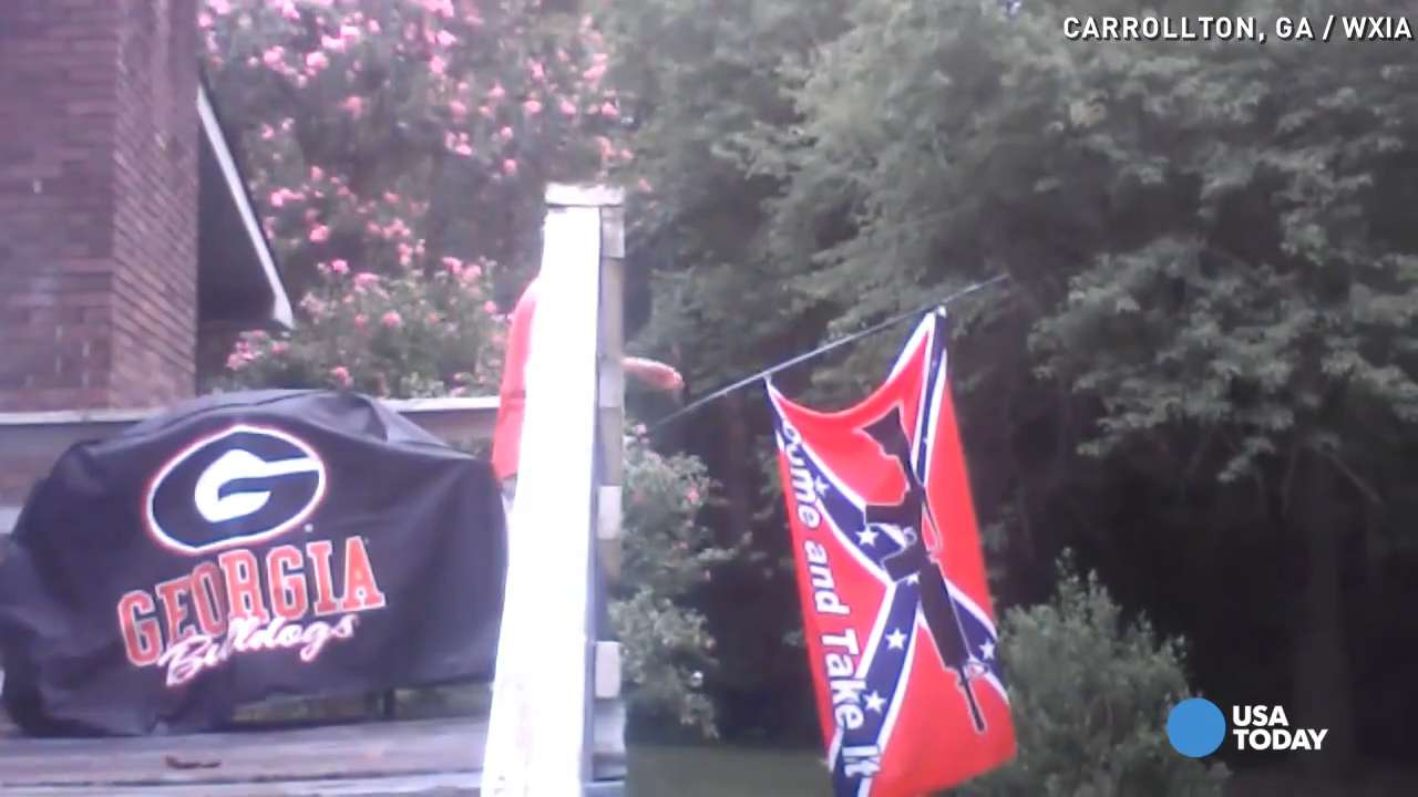 How one man convinced his neighbor to remove rebel flag