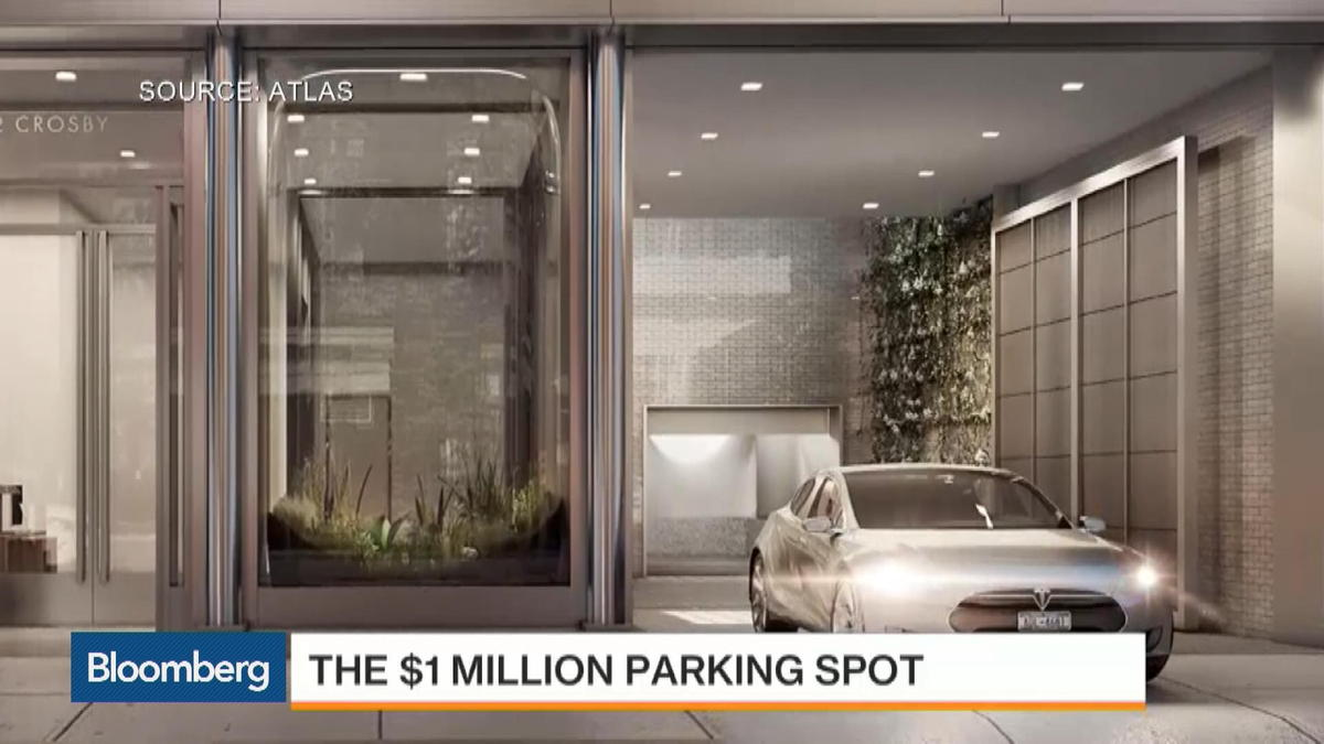 Guaranteed NYC parking is yours for just $1M