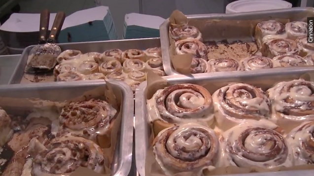 Because baking is hard, Cinnabon will soon deliver to you