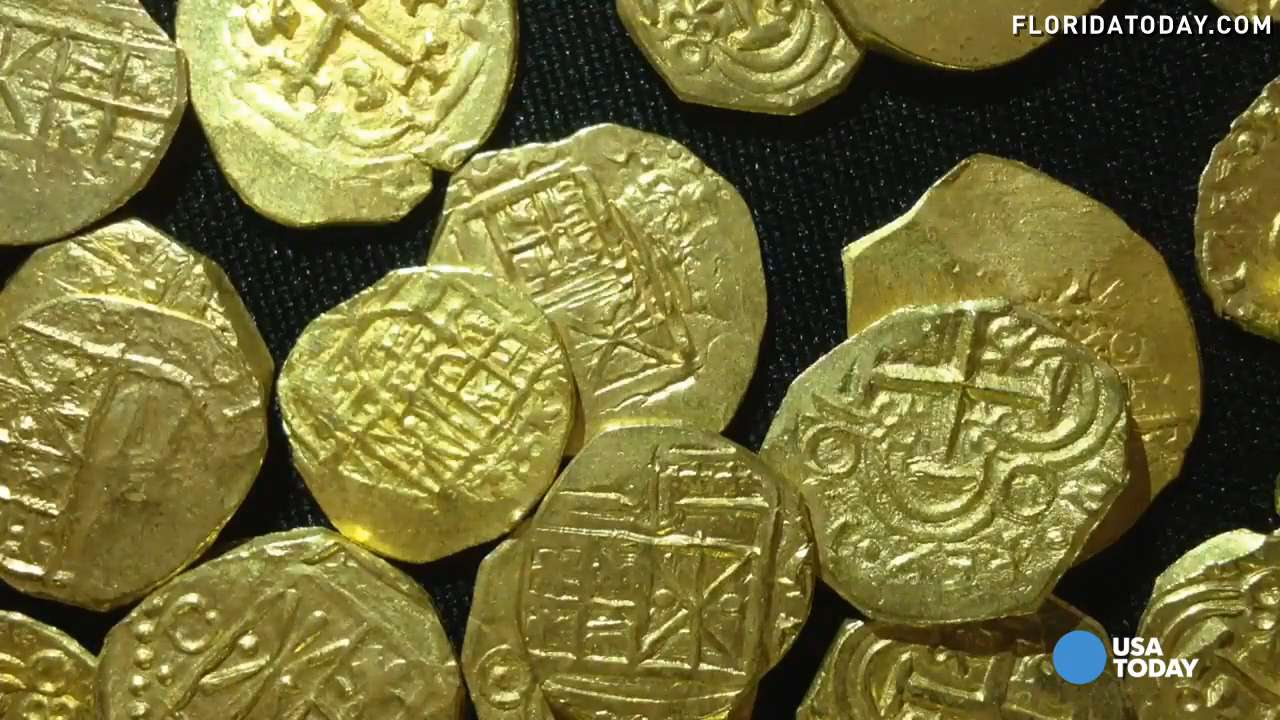 4.5M in sunken treasure found off Florida coast