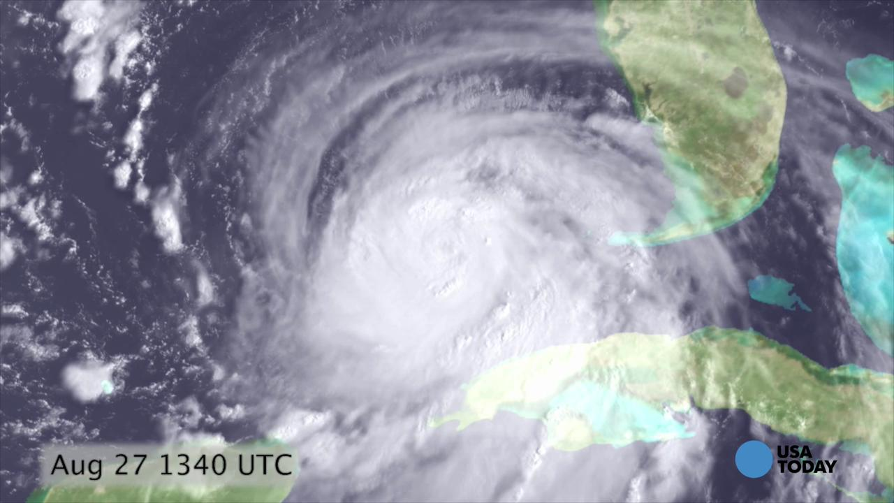 Watch a timelapse of 2005's Hurricane Katrina as seen from space