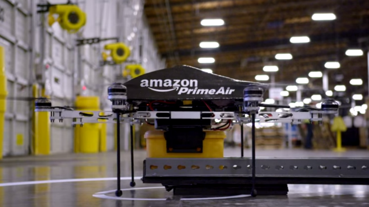 Amazon wants a drone traffic controller