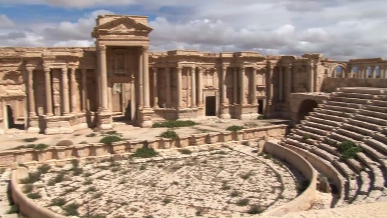 Islamic State group blows up temple in Syria's Palmyra
