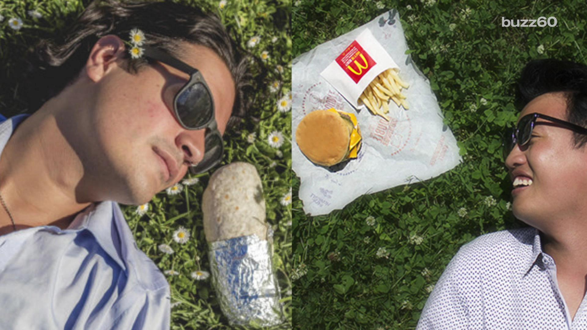McDonald's apologizes for plagiarizing viral burrito engagement photos