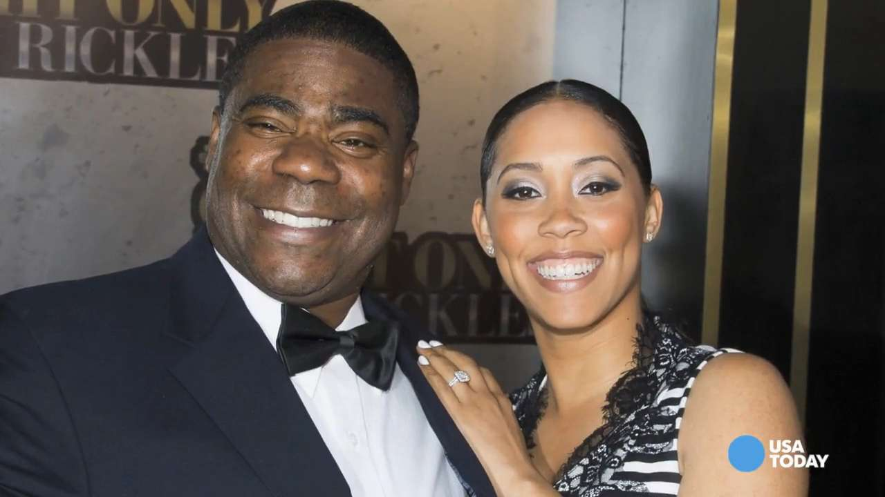 Tracy Morgan ties the knot