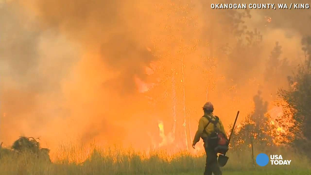 Family battles to save their home from WA wildfires