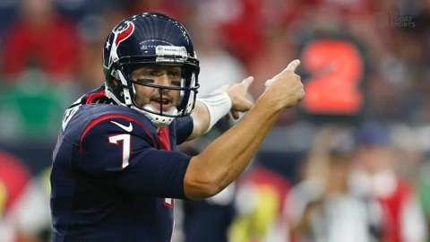 NFL Daily Blitz: Hoyer to start for Texans