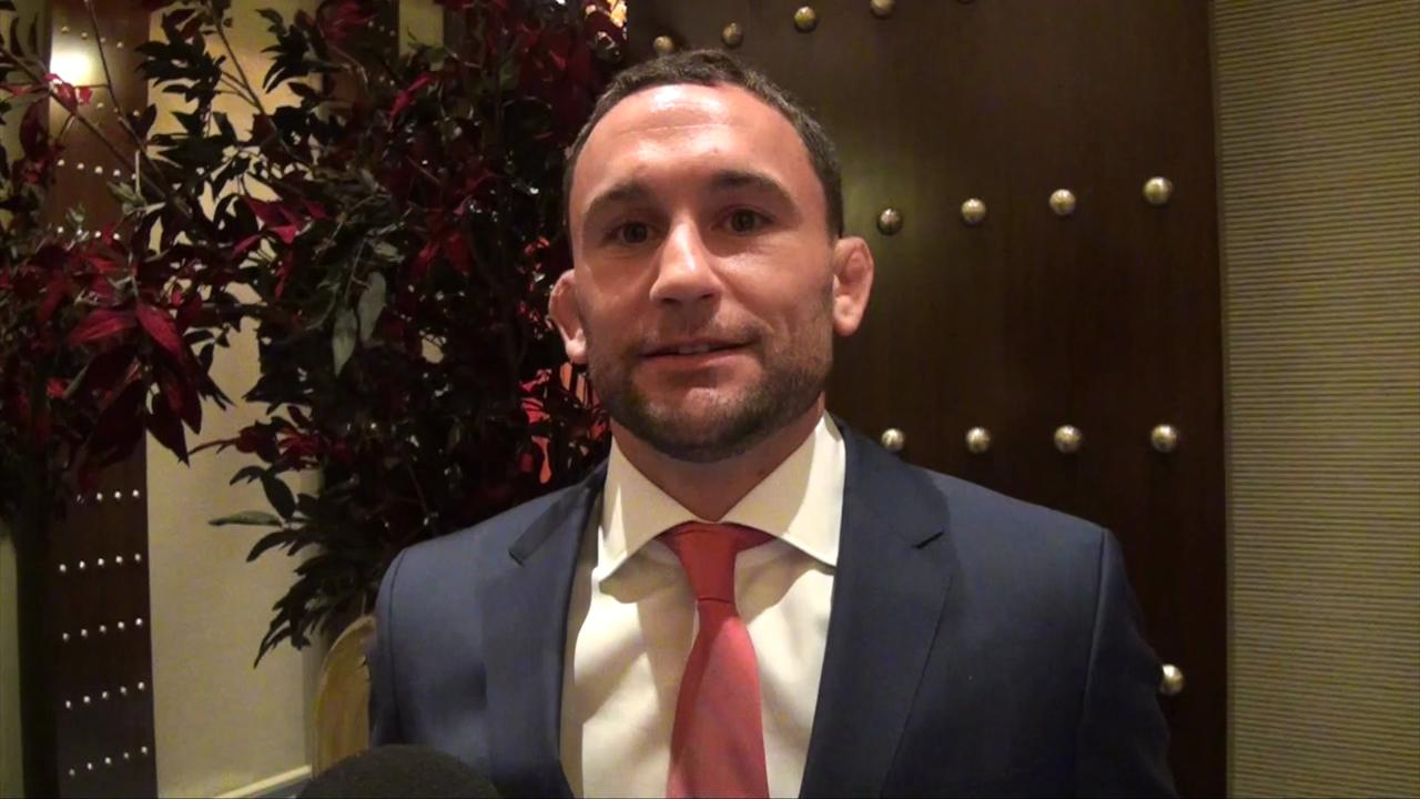 Frankie Edgar not bitter, used to doing things the hard way