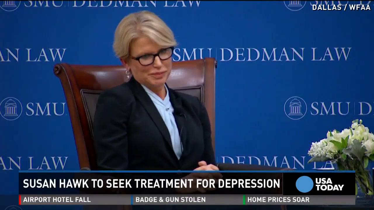 Dallas DA disappears, cites depression