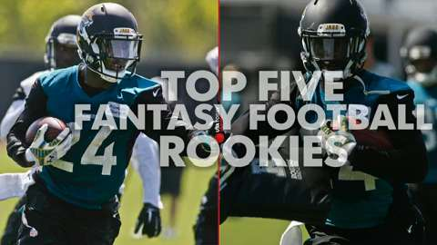 Top 5 fantasy football rookies