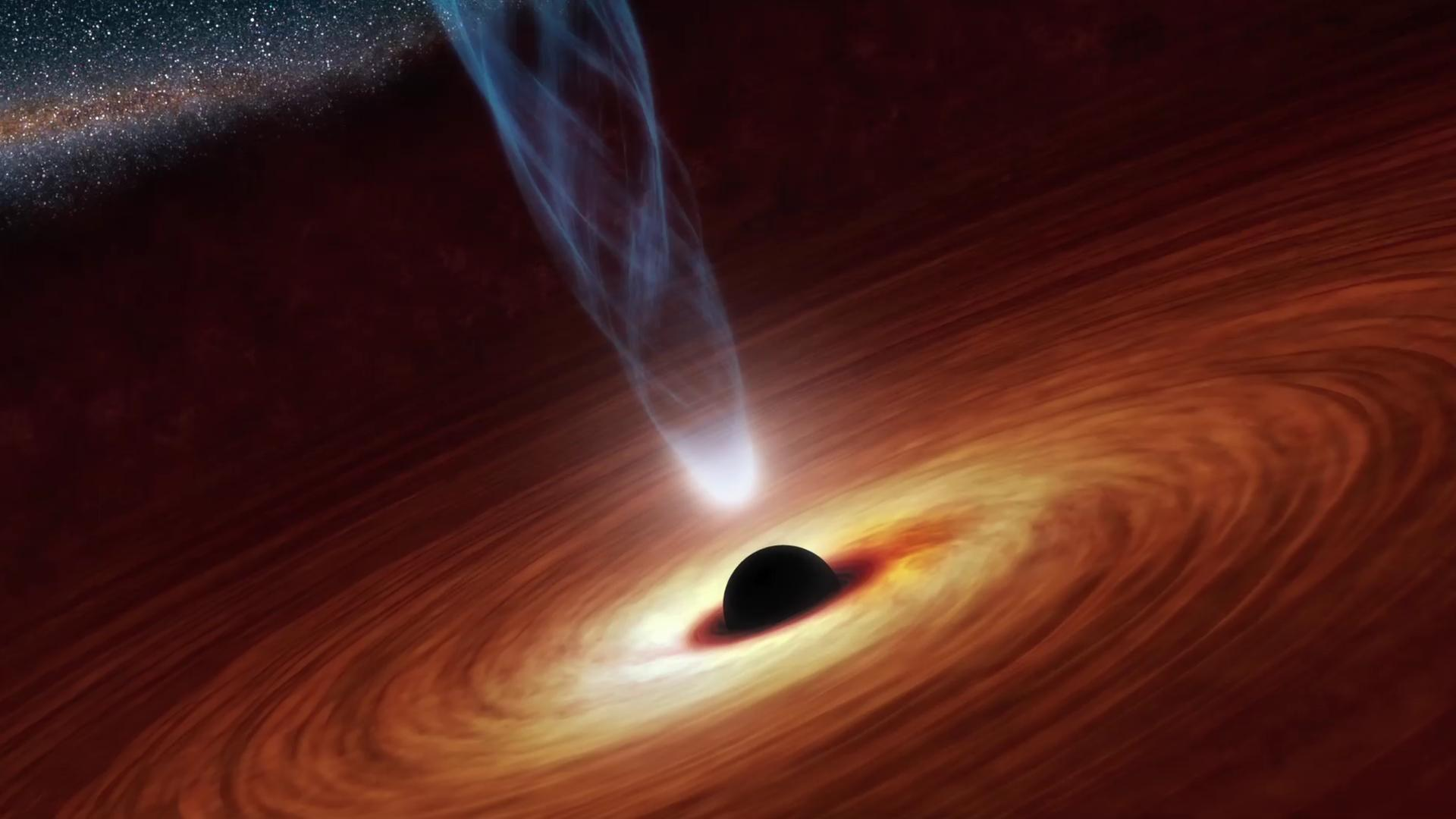 Stephen Hawking says there is a way out of a black hole (sort of)