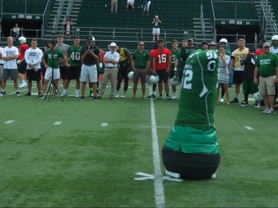 Dartmouth's New Football MVP Is High-Tech Dummy