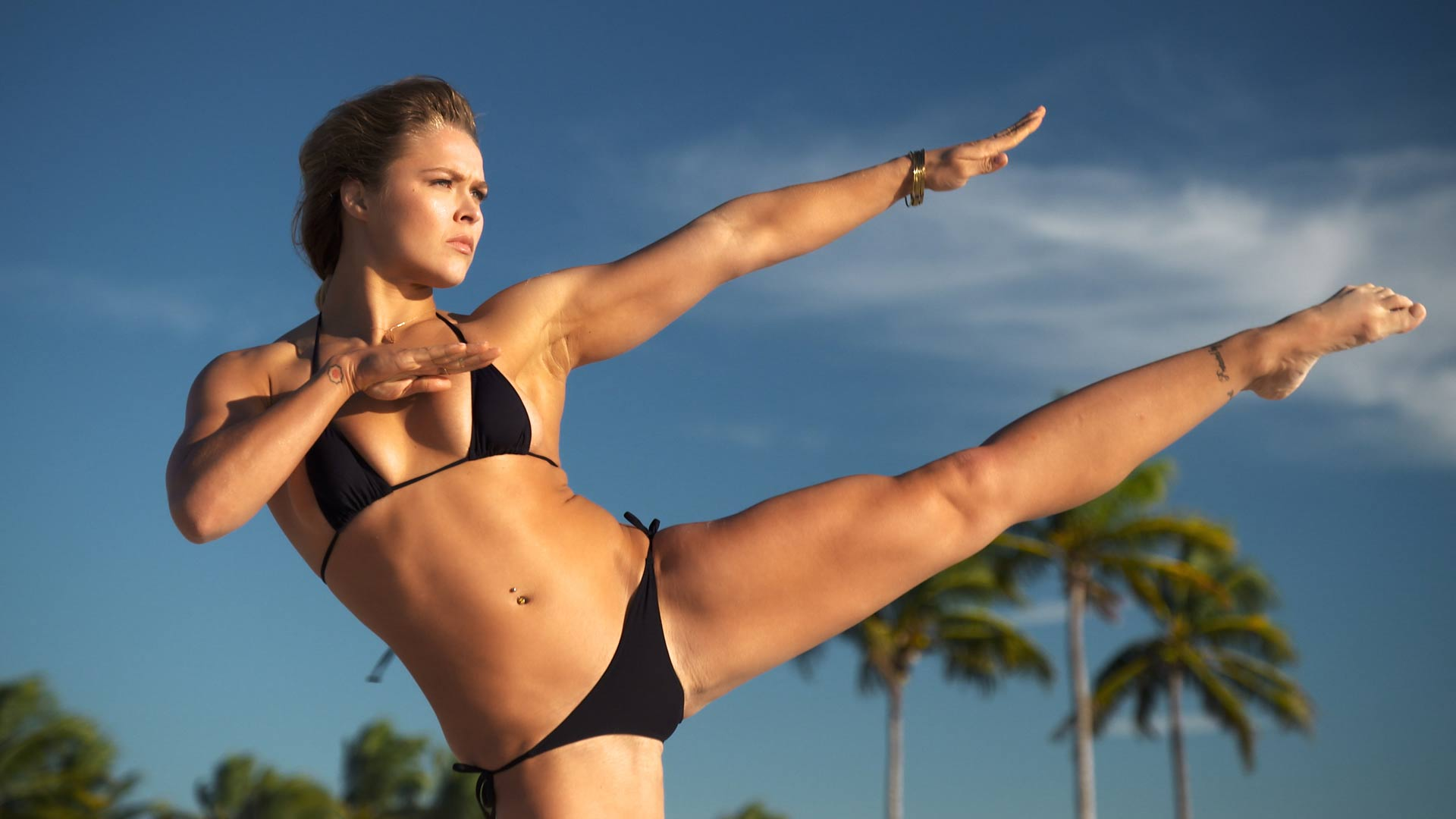 Ronda Rousey uncovered