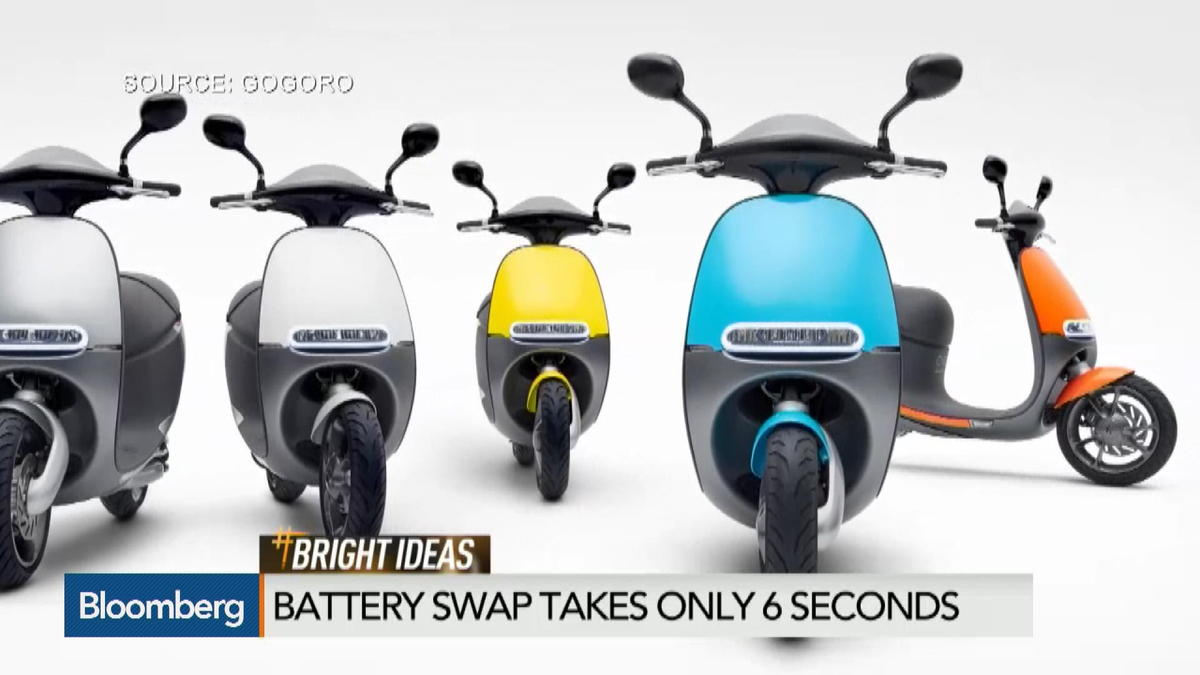 Gogoro Smartscooter: a Tesla on two wheels