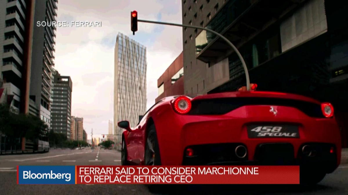 Ferrari may turn to Marchionne as new CEO