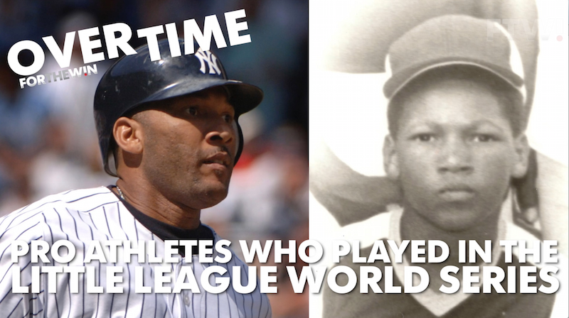 Pro athletes who played in the Little League World Series