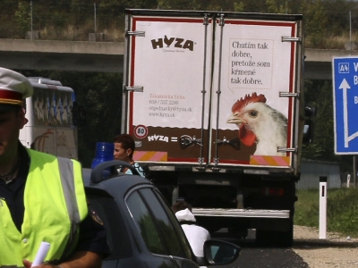 Raw: Migrants Found Dead in Truck in Austria