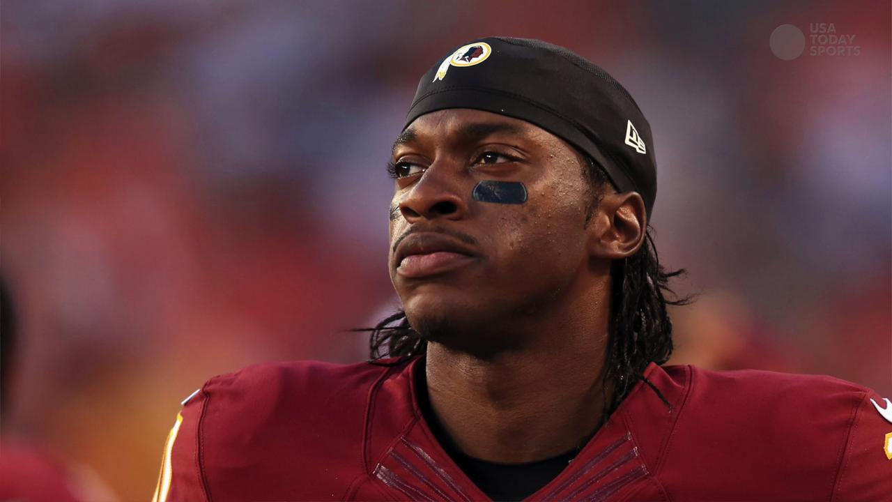 RGIII at center of quarterback controversy in Washington