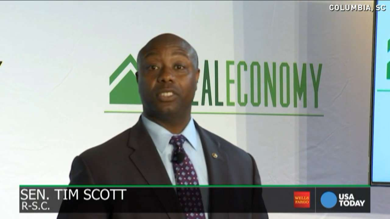 South Carolina Sen. Tim Scott's keys to a good economy
