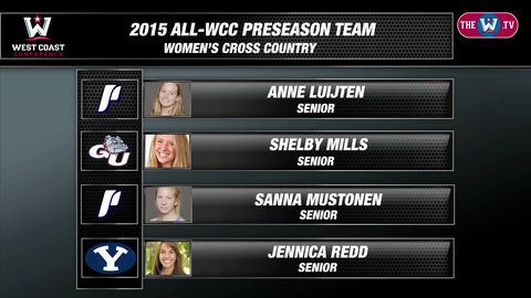 Video | 2015 WCC Cross Country Preseason Poll