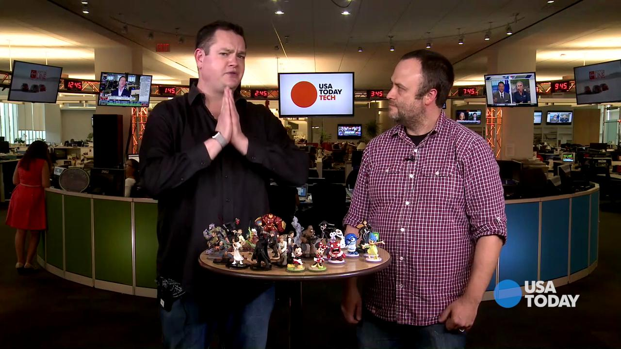 John Vignocchi, VP of production for Disney Infinity, talks to USA TODAY's Brett Molina about the new video game 'Disney Infinity 3.0: Star Wars.'