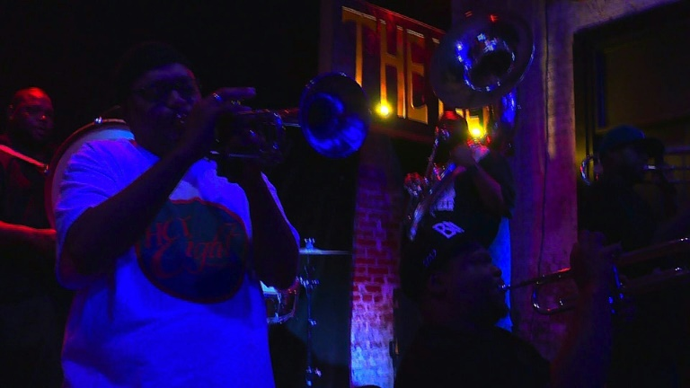 Ten years after Katrina, the beat goes on in new Orleans