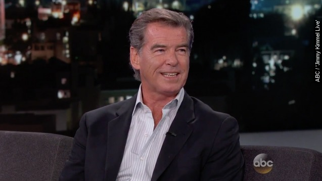Pierce Brosnan's first love broke his little heart