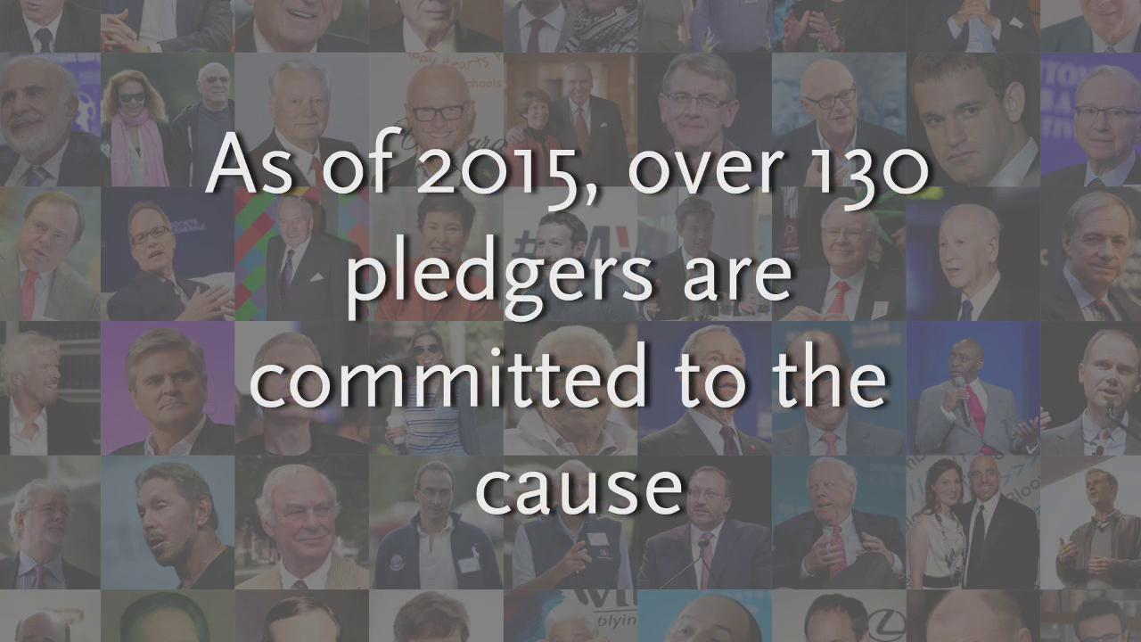 Billionaires sign up to give away wealth: facts you should know about The giving pledge