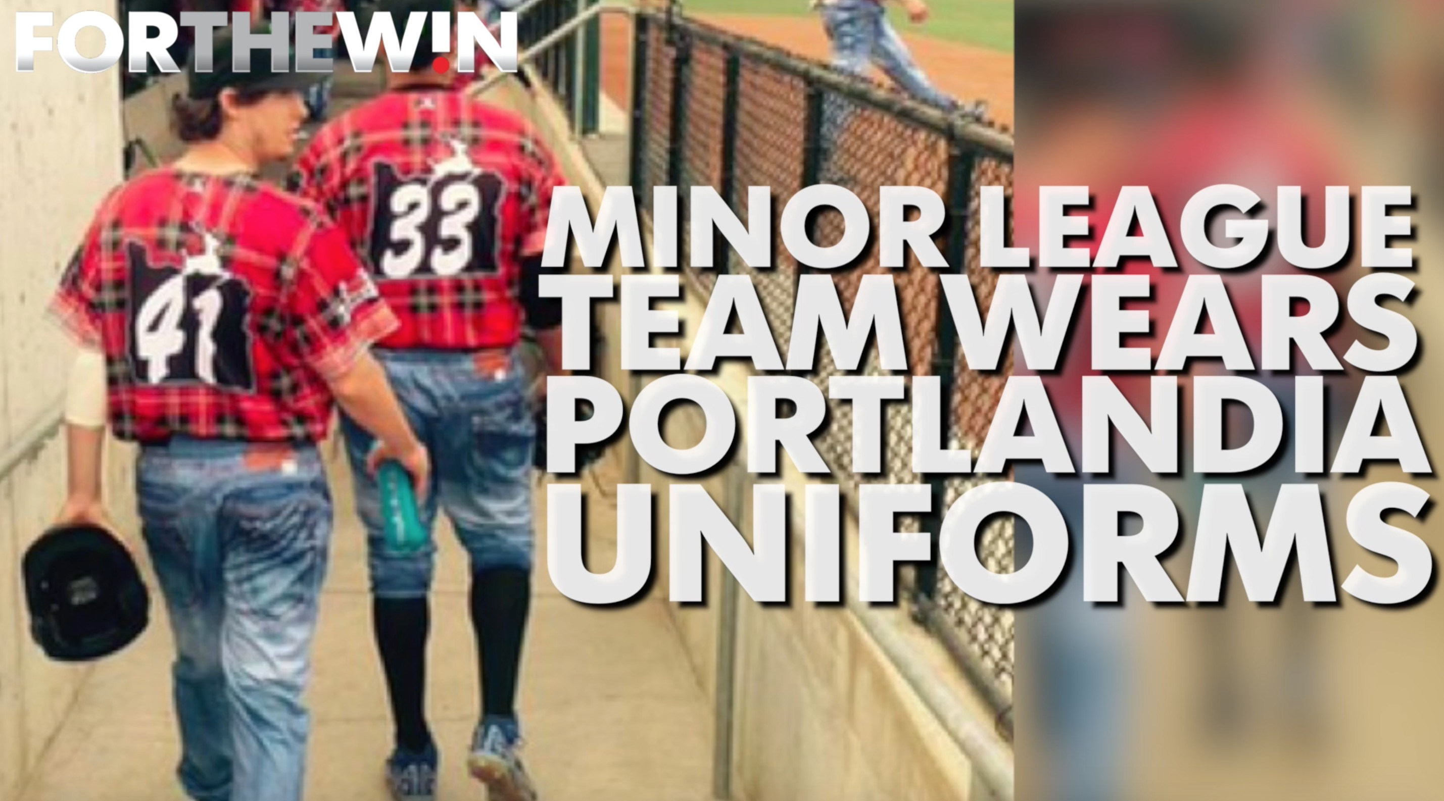 Minor league team wears Portlandia uniforms