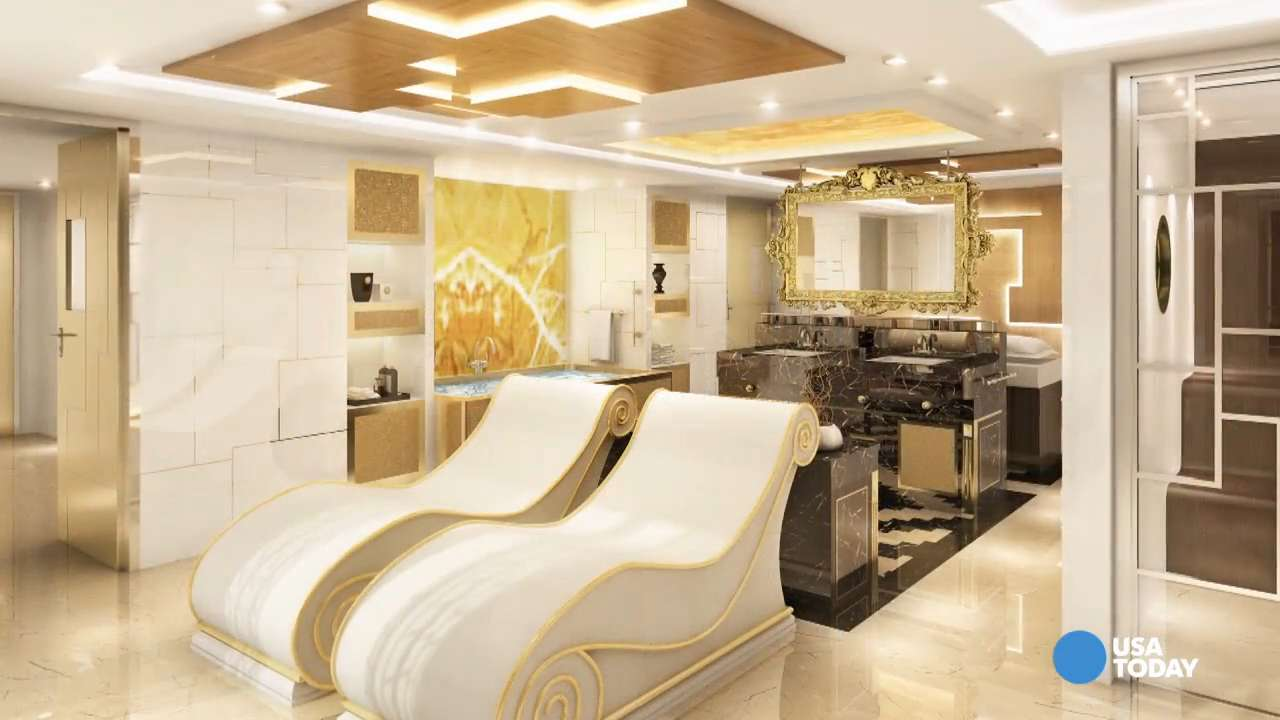 Live the suite life on this luxurious cruise ship