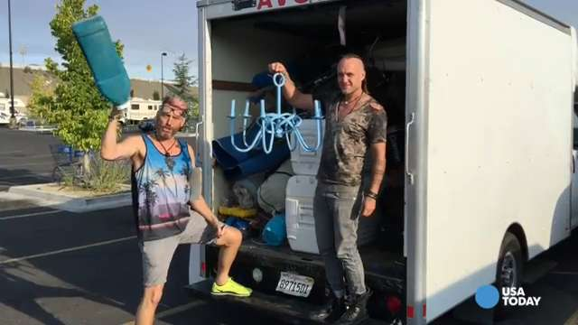 Burning Man devotees swamp big box stores for supplies