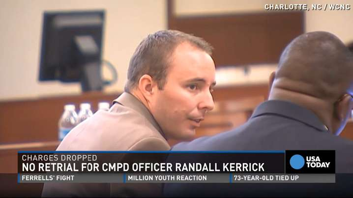 Charges dropped against officer who killed black man