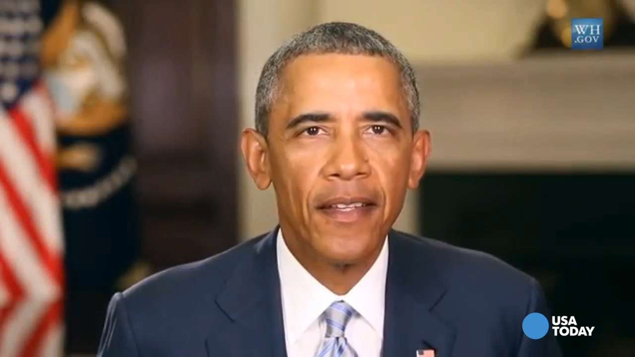 Obama warns climate change happening 'right now'
