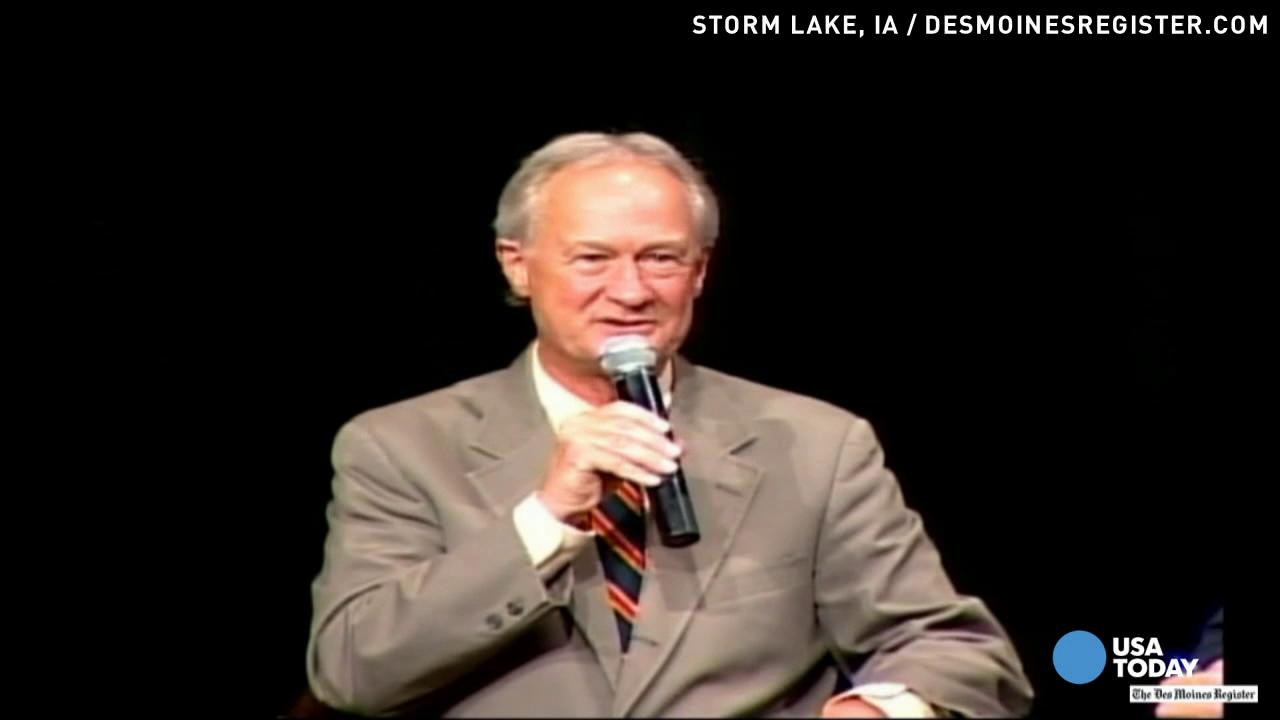 Lincoln Chafee: Can't sweep immigration 'under the rug'
