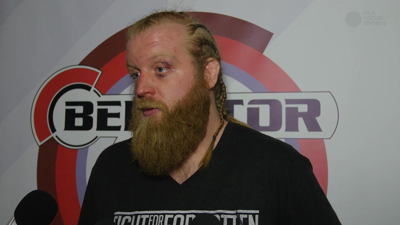 Justin Wren gets a big win at Bellator 141 and continues to be a champion at life