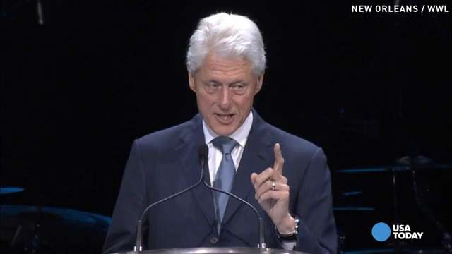 Clinton calls for 'rededication' on Katrina anniversary