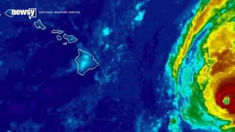 Hurricane Ignacio nears Hawaii, but its course is unknown