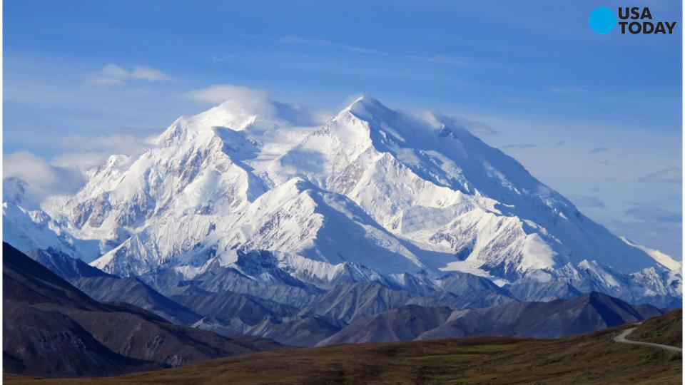 The White House just renamed America's tallest mountain