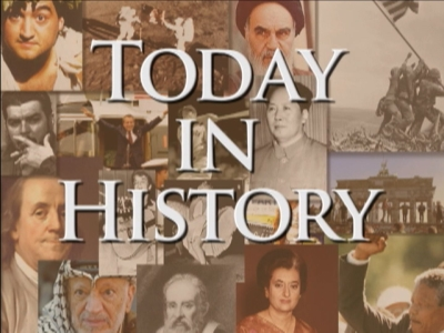 Today in History for August 31st