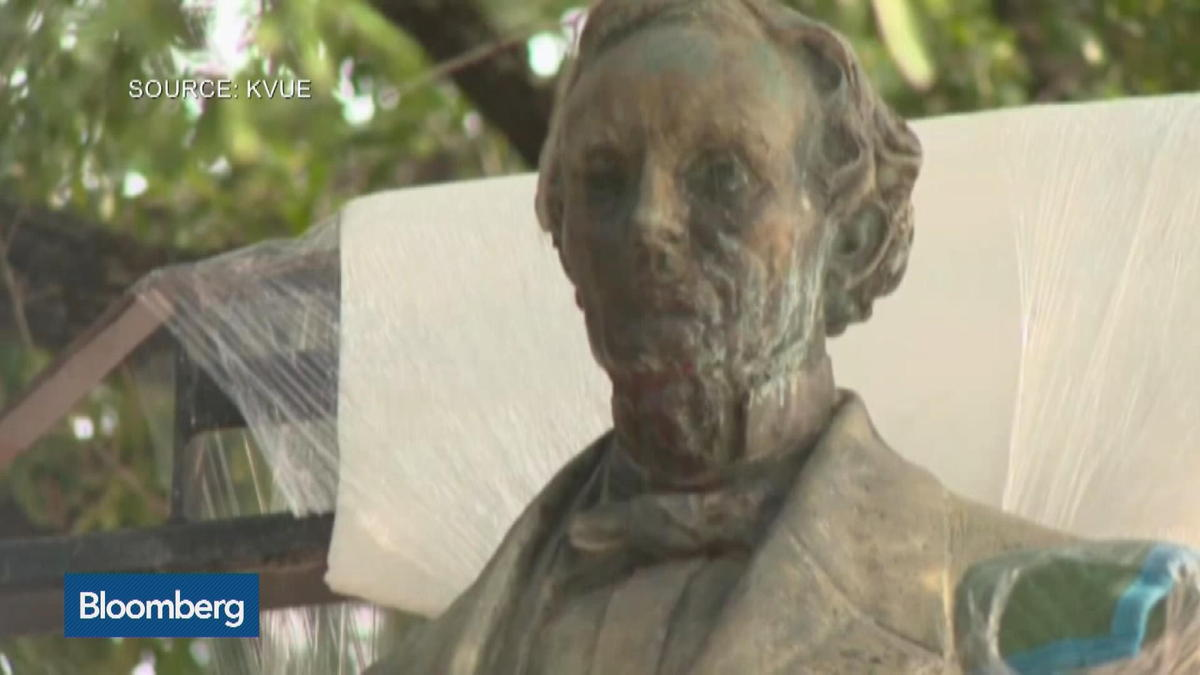 Jefferson Davis Statue removed from University of Texas