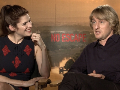 Wilson, Bell Talk Stunts, Action of 'No Escape'