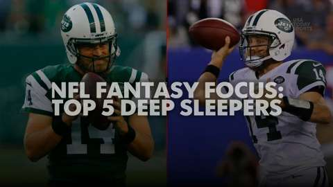 USA TODAY Sports gets you ready for your fantasy football draft, and gives you the top 5 deep sleepers for 2015.