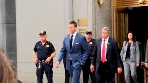 Tom Brady Deflatgate settlement hearing in New York City
